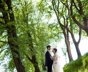 bryllupsfotograf pris kolding