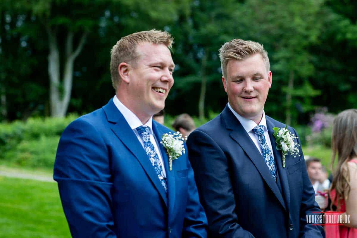 Billeder af vrå slot bryllup