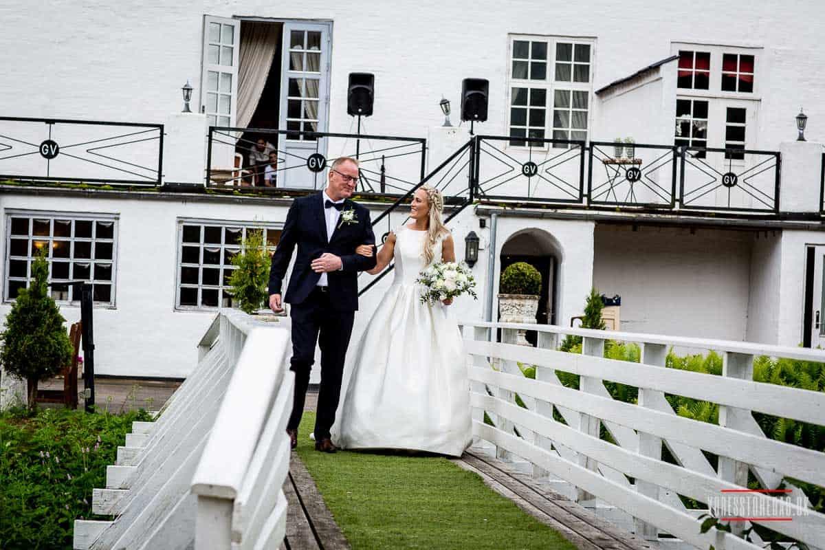 Flere billeder af vrå slot bryllup