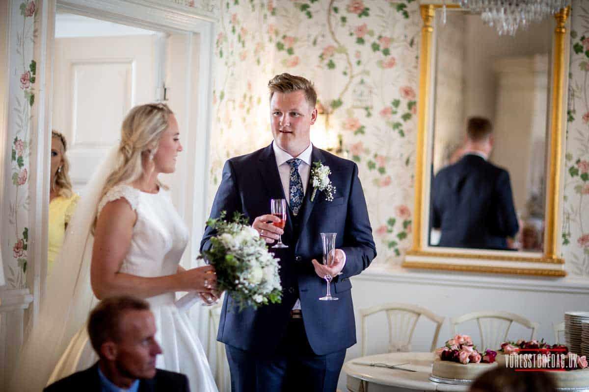 Bryllup & fest - Slotsferie i Danmark
