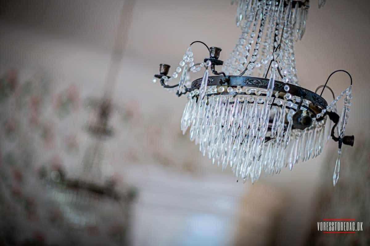 Billeder af slot bryllup