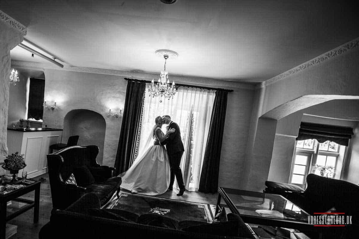 Flere billeder af slot bryllup