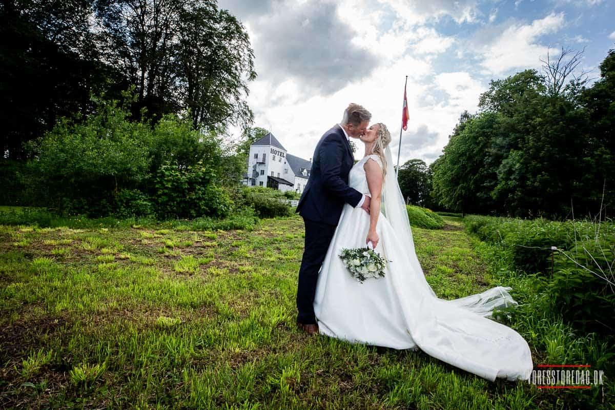 Hvordan vælger man sin bryllupsfotograf til et slotsbryllup?