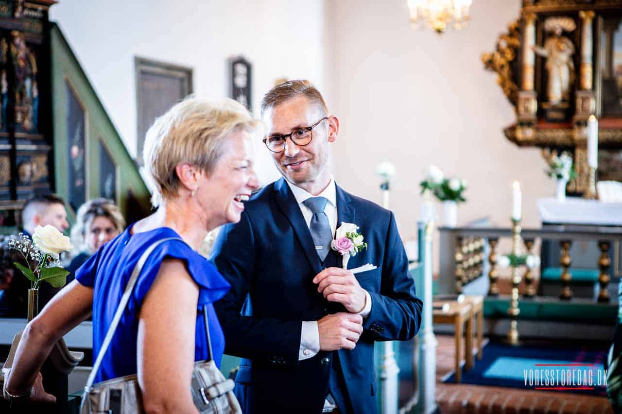 Vi skal holde bryllup på Tyrstrup kro