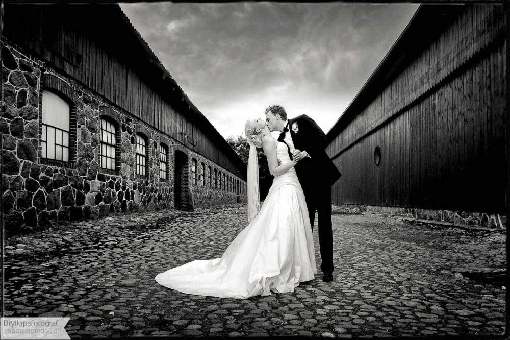Brudepar Sebrine og Christian