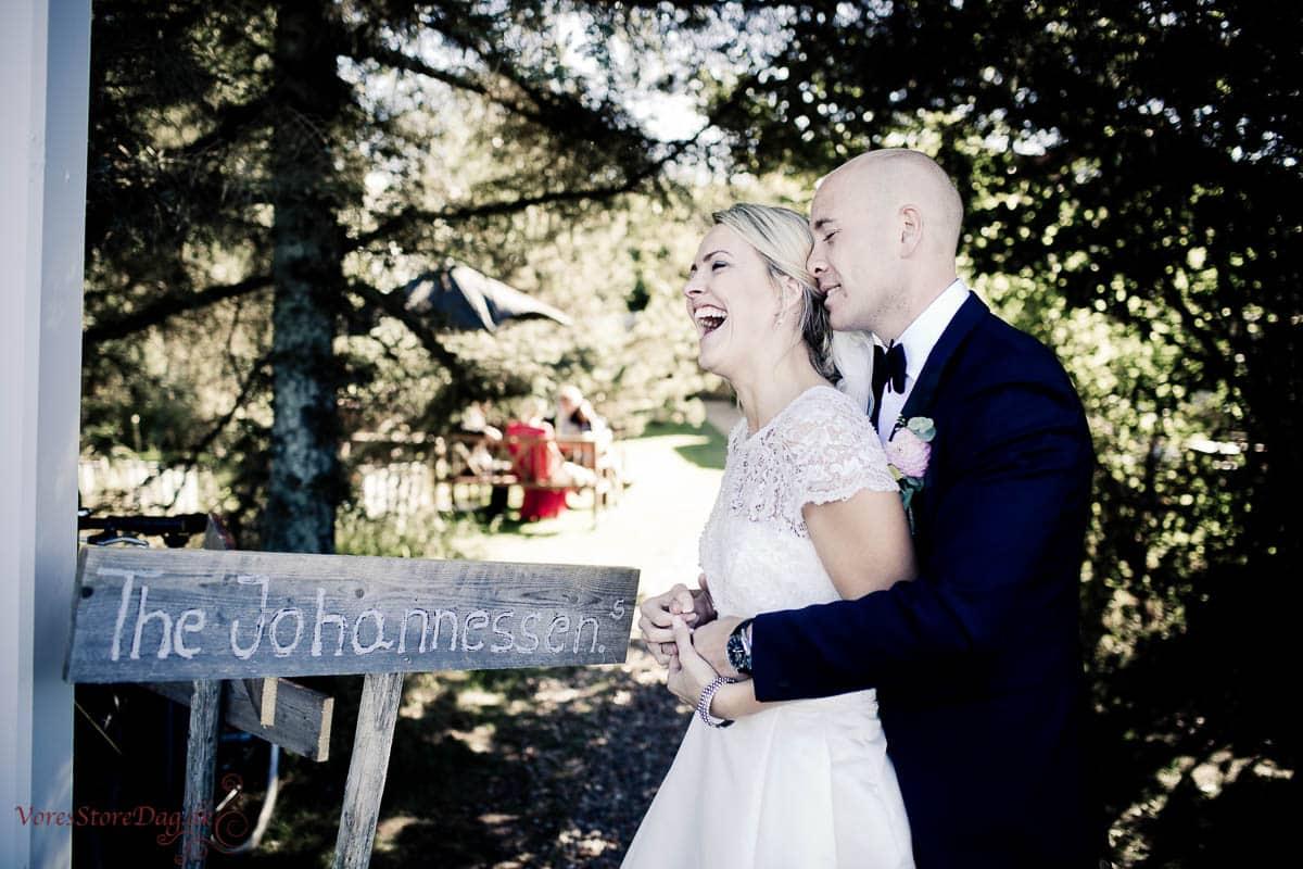 Kreativ oganerledes bryllupsfotograf