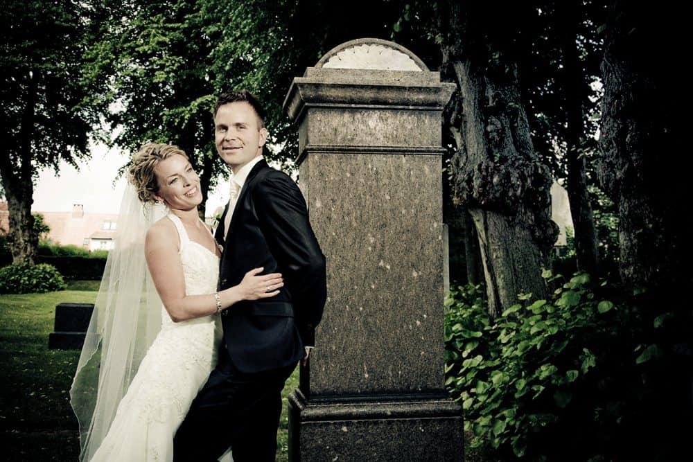 Bryllupsfotografering i Odense
