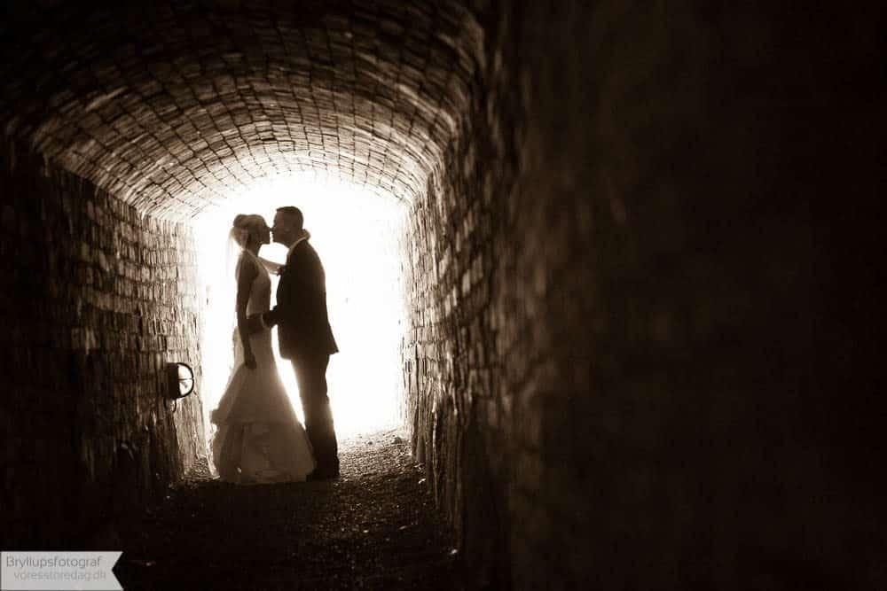 Brudepar Anette og Brian
