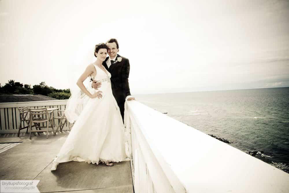 Brudepar Anne-Mette og Lars