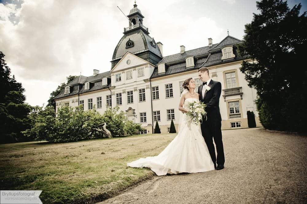 Brudepar Christian og Natasja