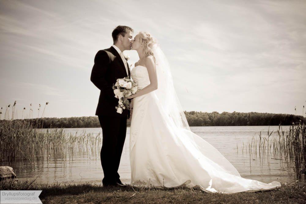 Brudepar Henrik og Jacqueline