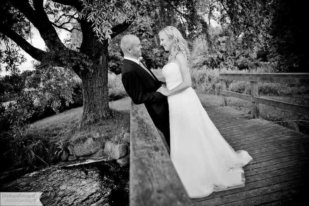 Brudepar Louise og Lars