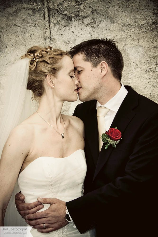 Brudepar Per og Louise