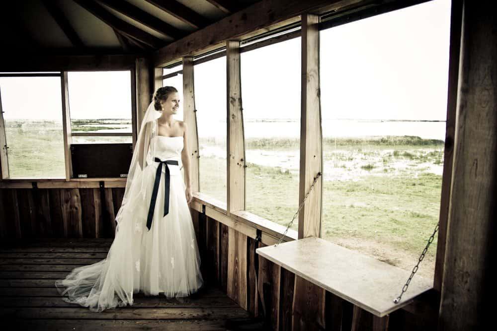 Bryllupsfotos Jylland