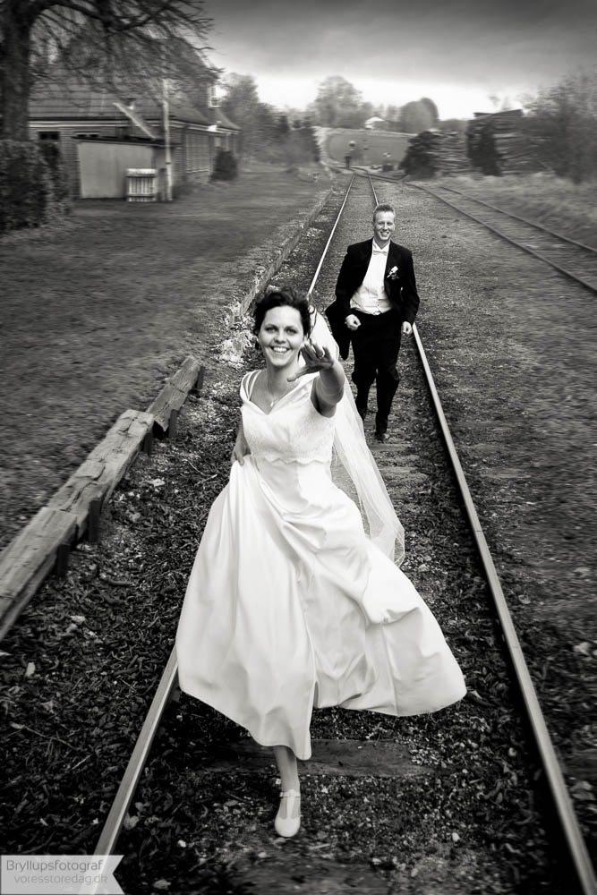 Brudepar Line og Klaus