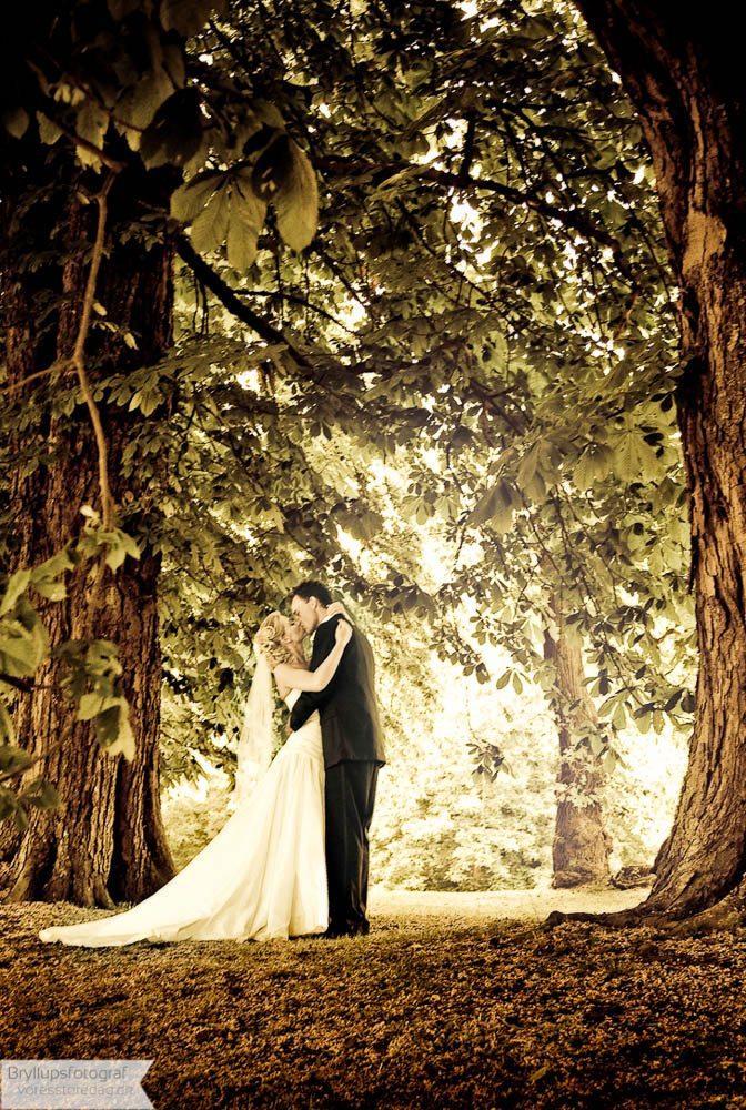 Brudepar Nicolai og Louise