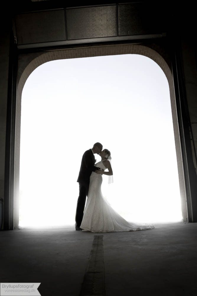 Brudepar Anette og Nicolai