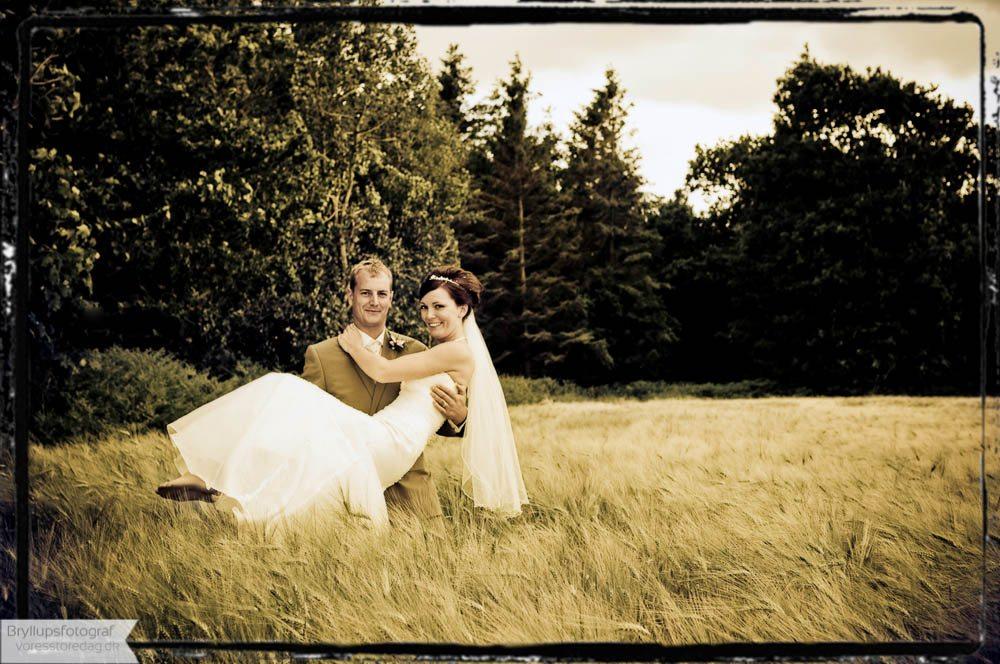 Brudepar Guy og Mariann