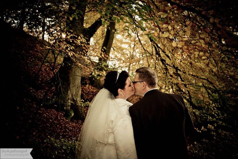 Brudepar Mette og Lars