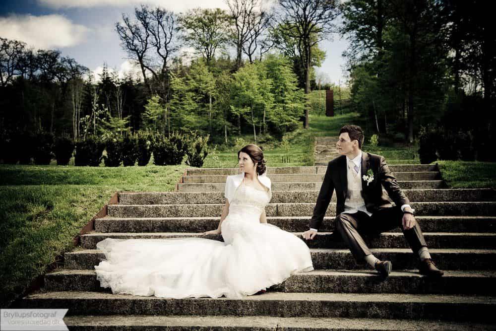 Brudepar Michelle og Stefan