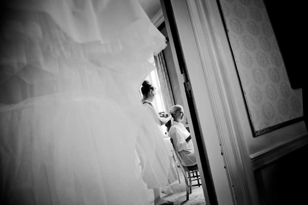 brudekjole ved bryllup