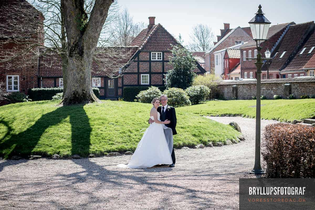 Wedding photographer civil marriage in Ribe