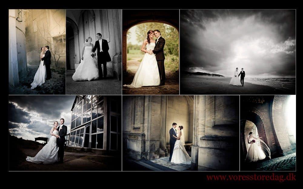 kreativen Hochzeitsfotografen
