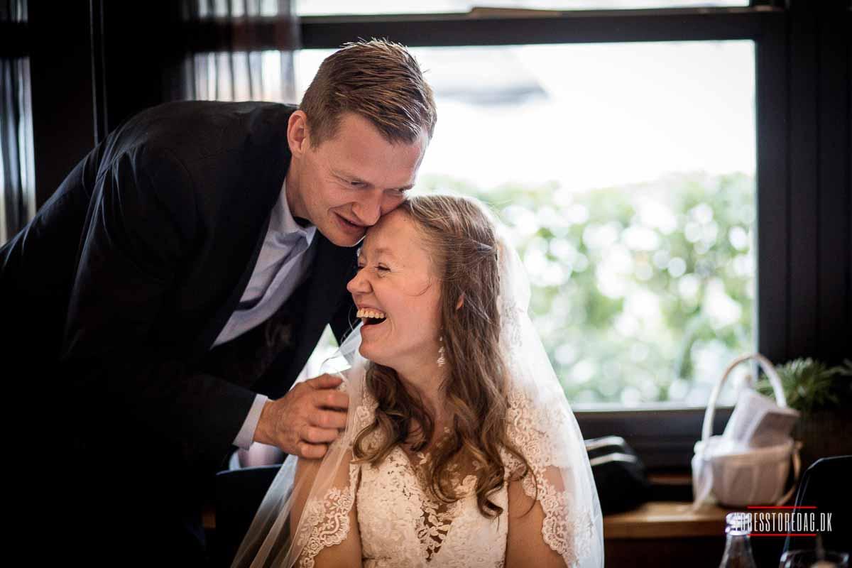 bryllupsfest på Admiral Hotel i København