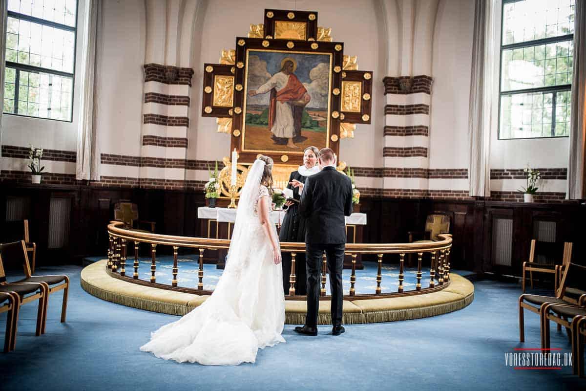 fotos af Vielse i Filips kirke