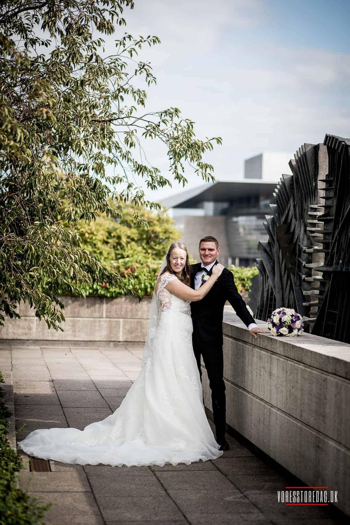 bryllupsbilleder af admiral hotel bryllup