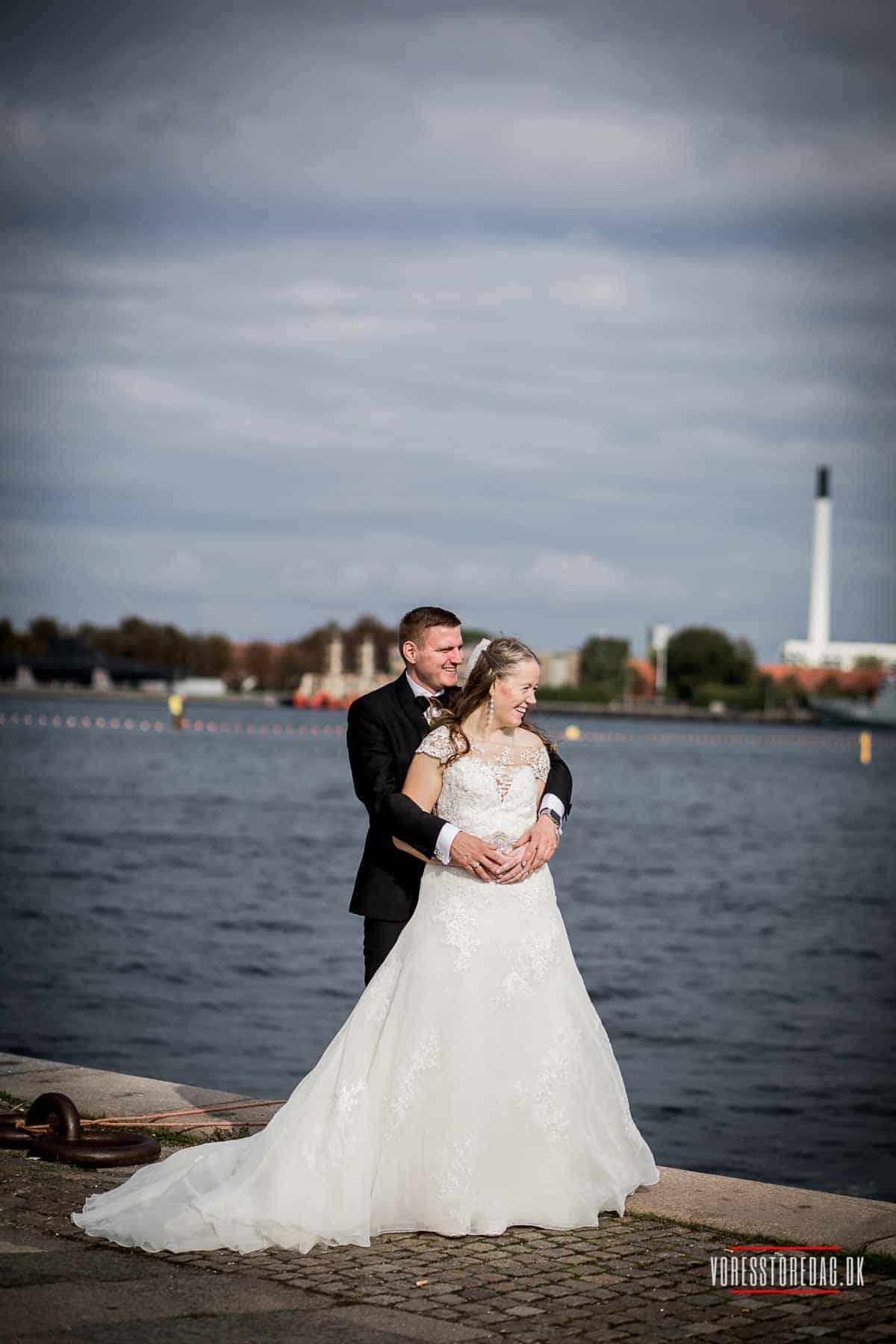 Bryllup ved vandet i København