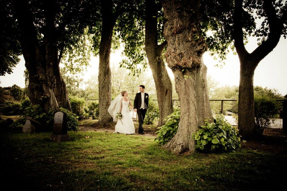 Bryllupsfotograf den store dag