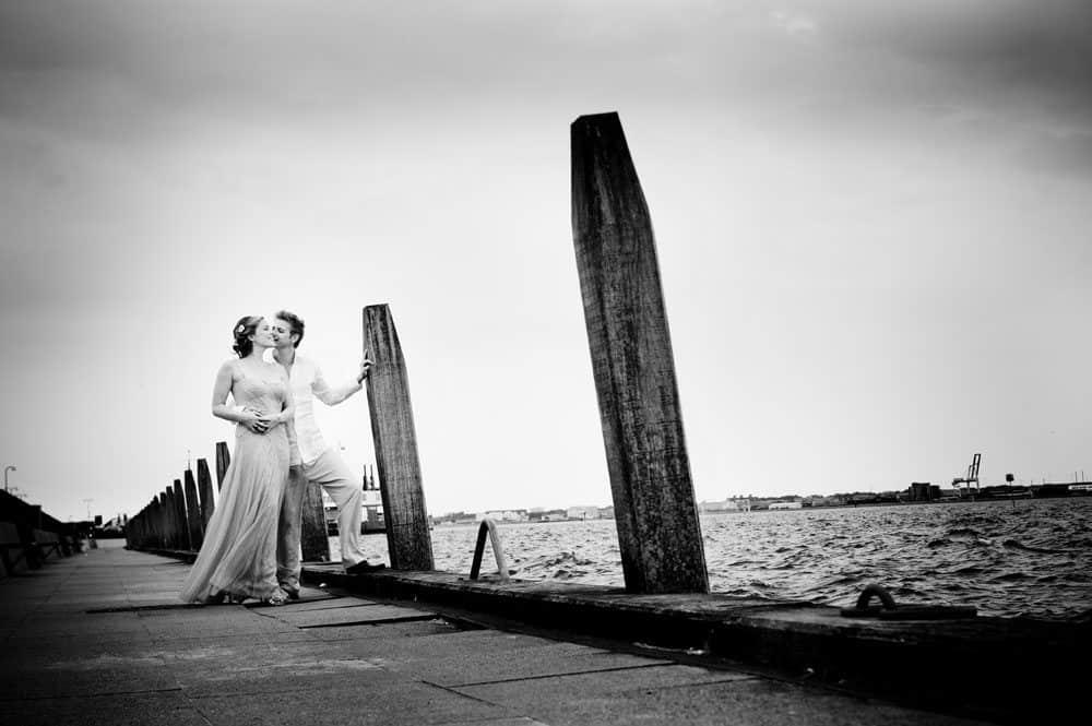 portrætfotos ved bryllup