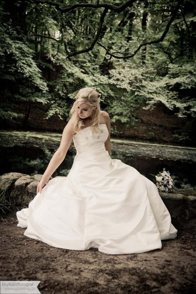 bruden i skoven ved Viborg
