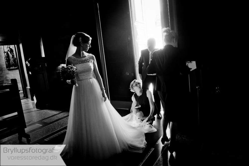 Bryllup i Marmor kirken København