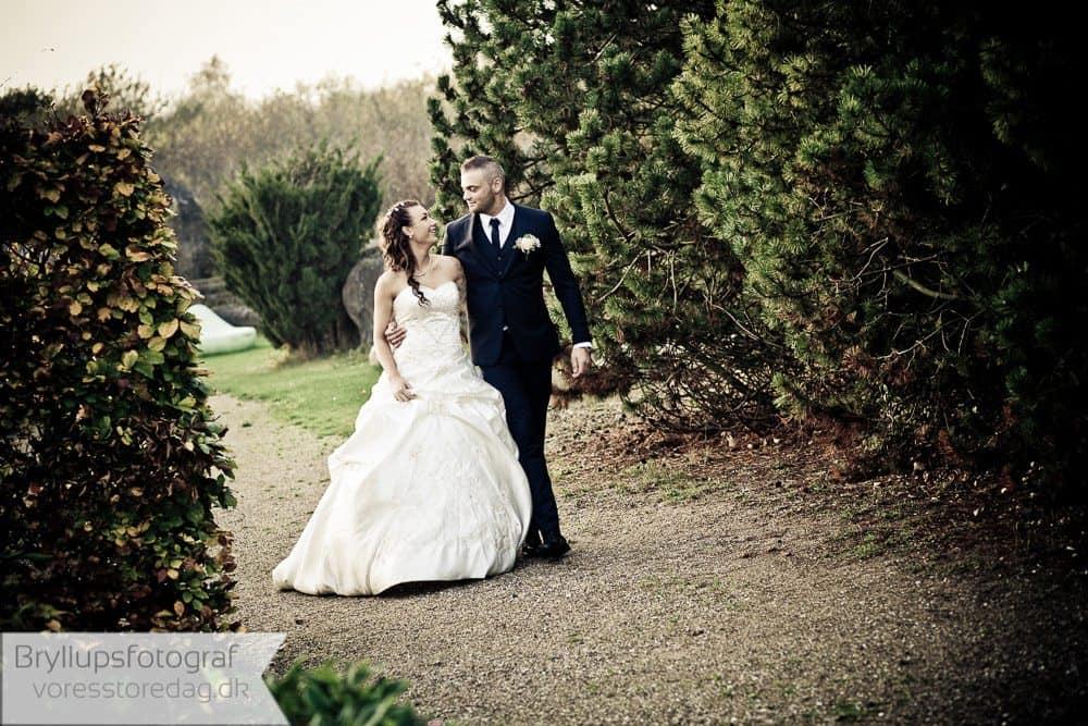 Bryllupsbilleder fra Nordsjælland