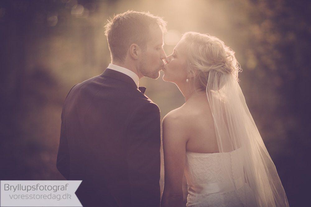 Bryllupsfoto ved Ubberud