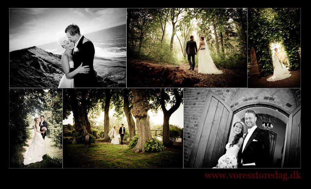 Fladbro kro bryllup og fotografering