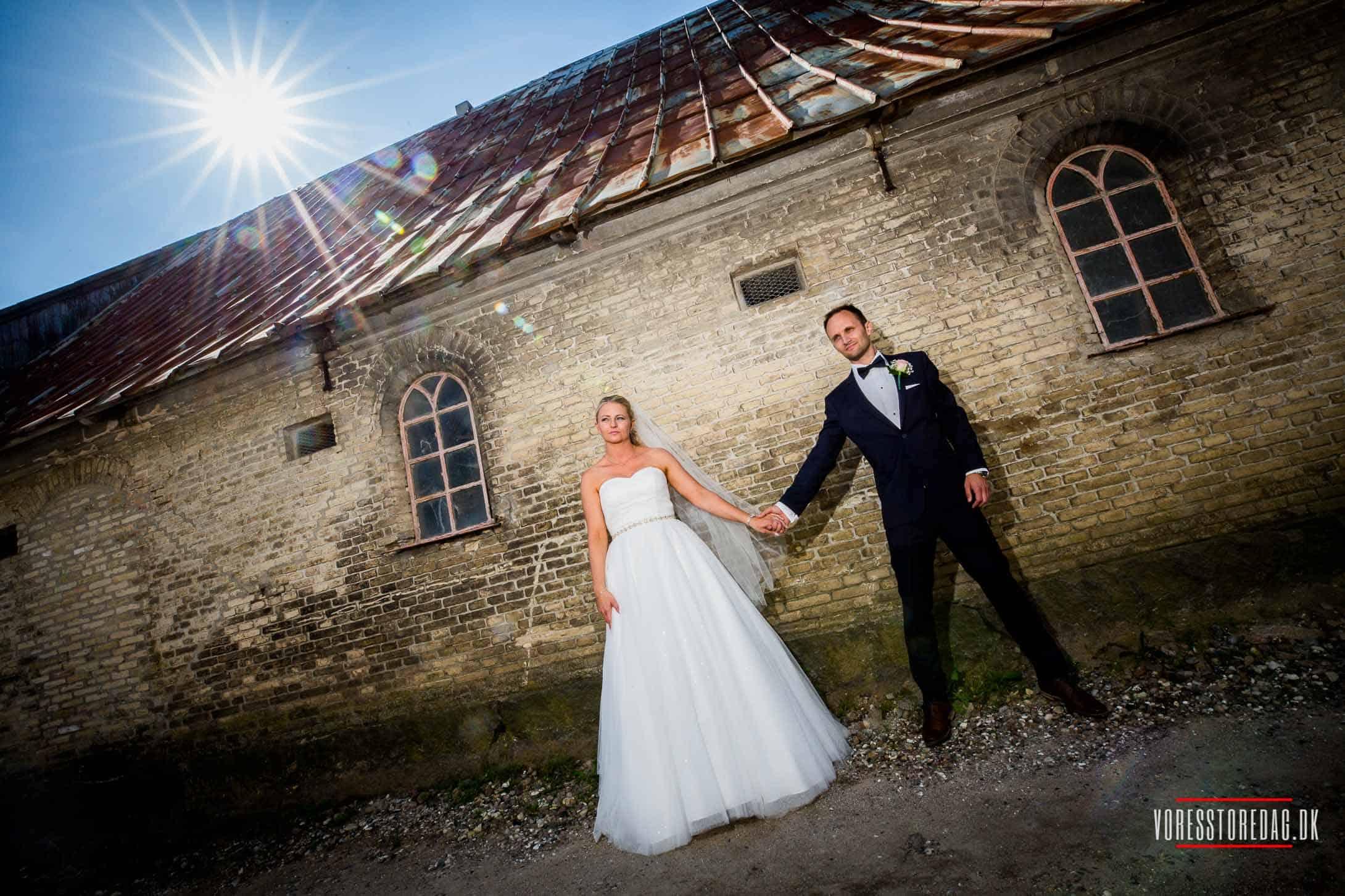 bryllup på ballebro færgekro