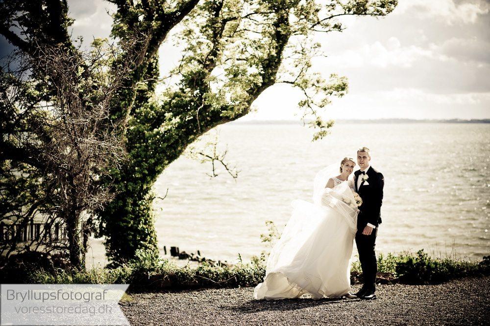 Johanneberg hotel bryllup brudepar