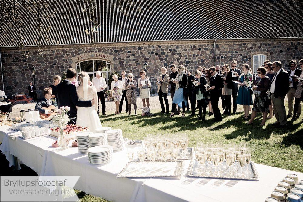 bryllup på gods