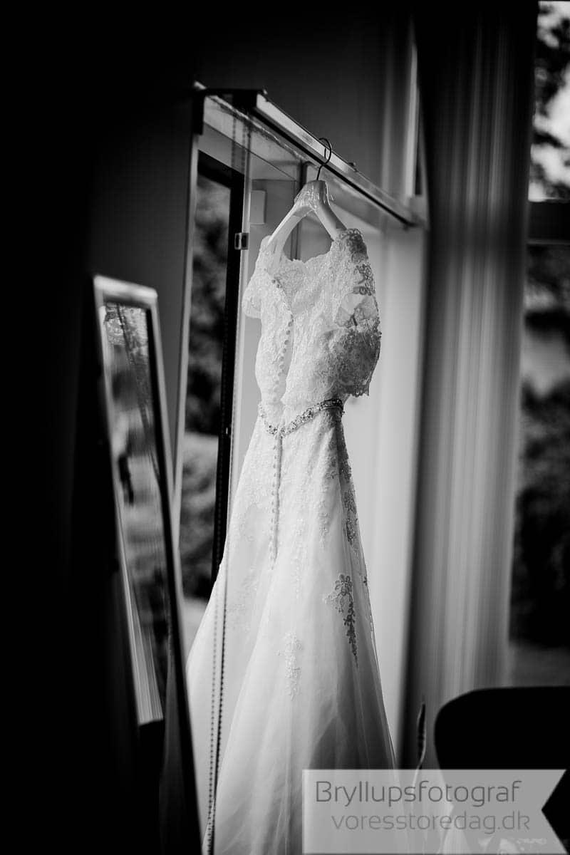 Sort hvid bryllupsbilleder