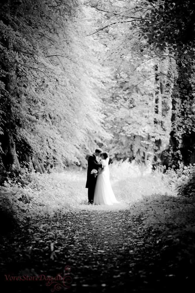Rosenholm Slot bryllup 1