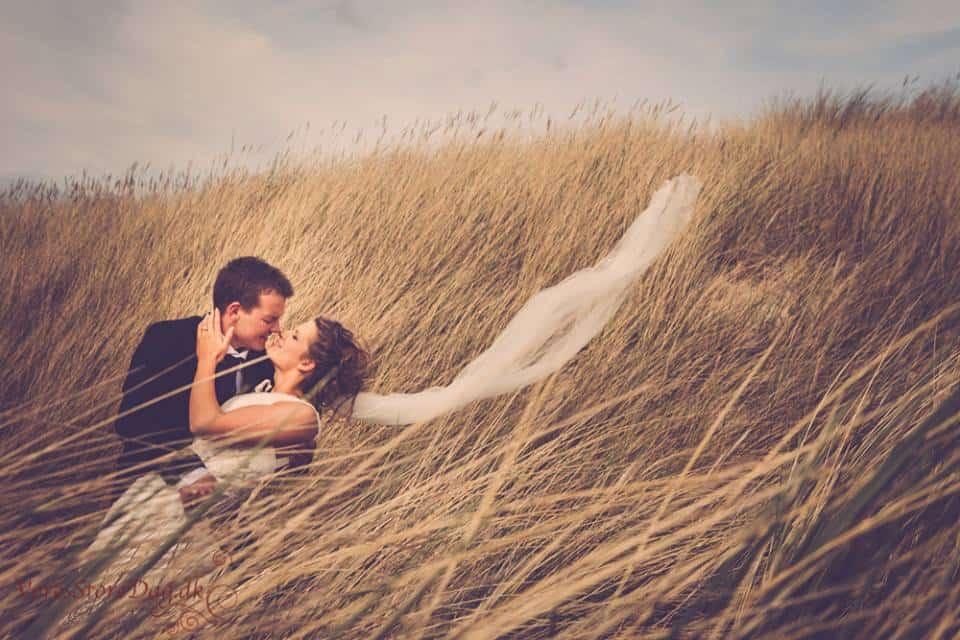 bryllup ved Hurup Thy