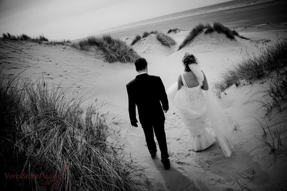 bryllupsbilleder Hotel Thinggaard