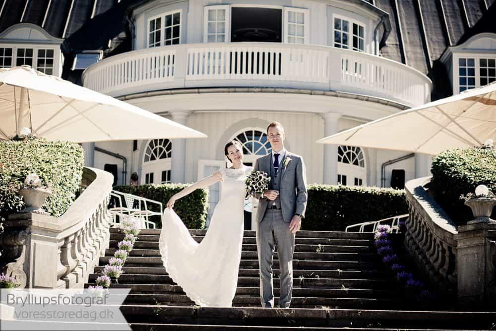 Aldershvile Slotspavillon bryllup