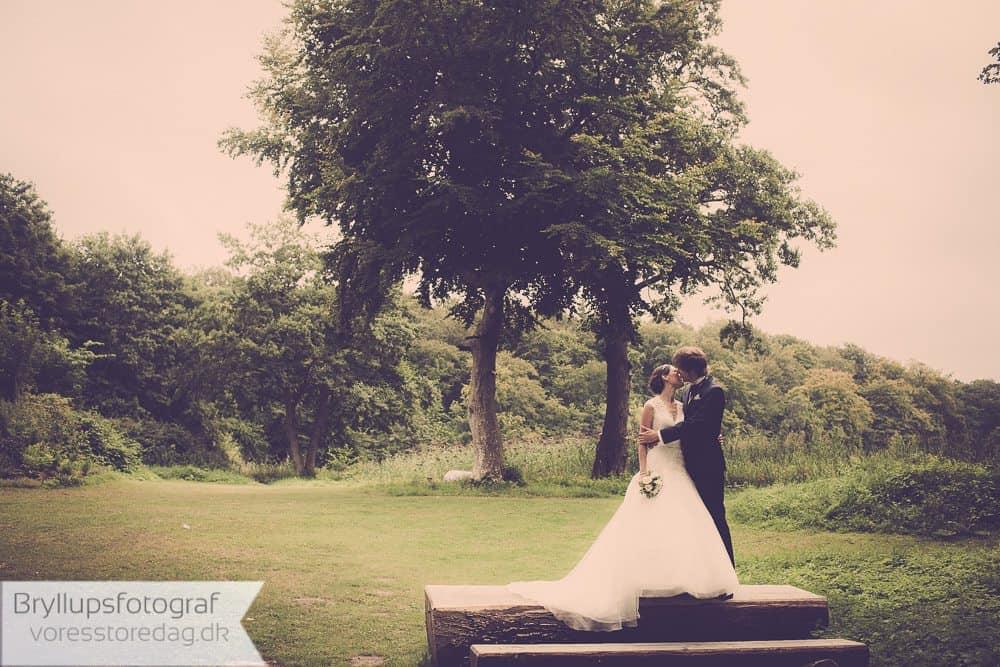 Charlottenlund Fort bryllup