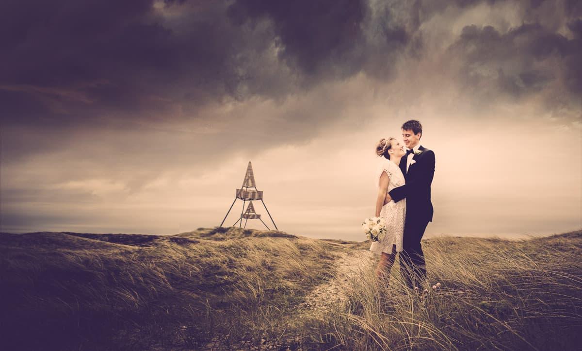 Fotomanipulation af bryllupsbilleder