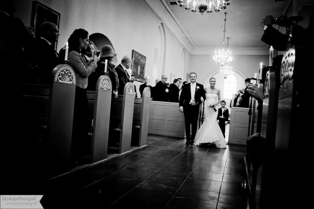Brudeparret Tim og Camilla