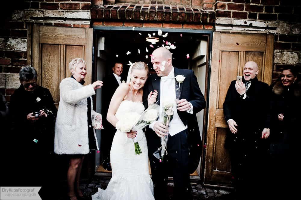 Brudeparret Anders & Pernille